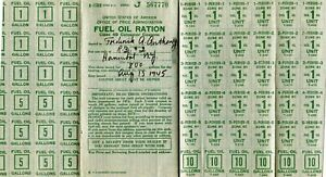 1945-WORLD-WAR-2-FUEL-OIL-RATION-BOOKLET-amp-STAMPS-FREDERICK-ANTHONY-HANNIBAL-NY