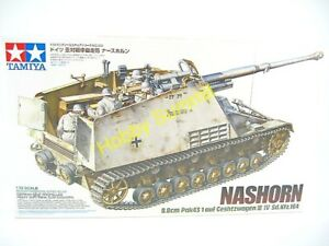 Tamiya-1-35-WWII-German-NASHORN-88mm-ANTI-TANK-GUN-Heavy-Self-Propelled-35335