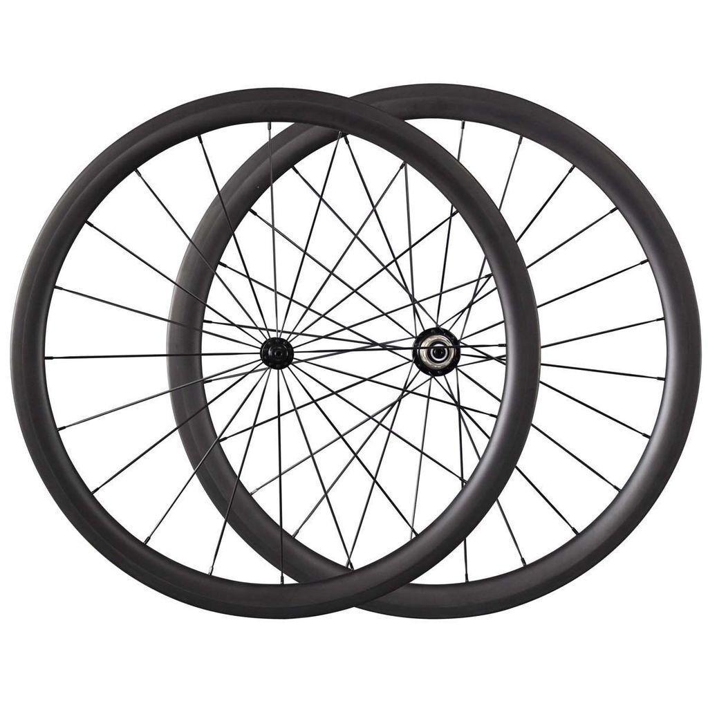 Only 1240g 23mm Width 38mm depth Tubular wheels Carbon Road Bike Wheel Set
