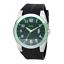 Relic-Jake-Men-039-s-Watch-Stainless-Steel-amp-Black-Rubber-Strap-Wristwatch