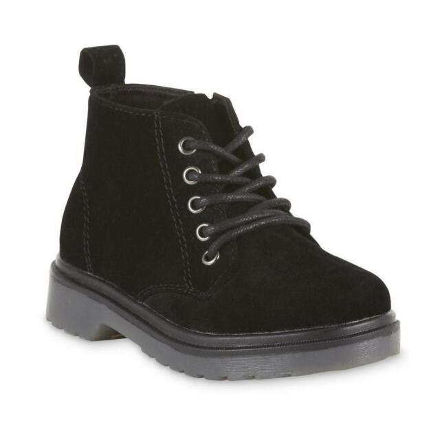 black ankle boots for toddler girl