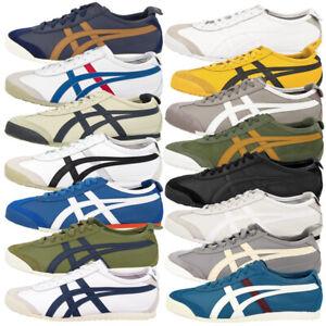 Details zu Asics Onitsuka Tiger Mexico 66 Schuhe Retro Freizeit Leder Sneaker Turnschuhe