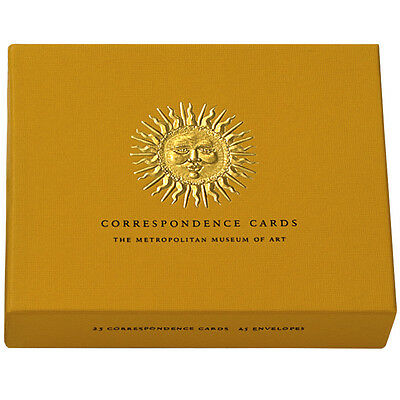 Thank You Notes Stationery Note Cards by The Metropolitan Museum 25 Sunburst