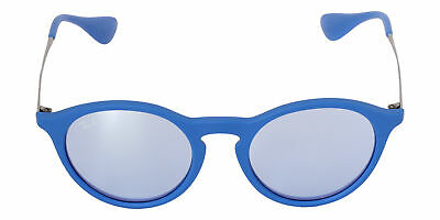 37502852ce0 Ray Ban RB4243-62631U-49 Youngster Unisex Blue Frame Blue Lens Sunglasses