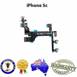 for-iPhone-5C-POWER-MUTE-VOLUME-BUTTON-SWITCH-FLEX-CABLE