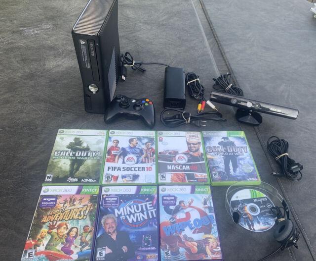 Microsoft Xbox 360 Slim 250GB Black Console Model 1439 W ...
