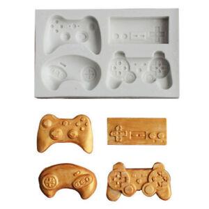 Gamepad-Silicone-Cake-Mold-Fondant-Mould-Chocolate-Baking-Decorating-Mould-Jf