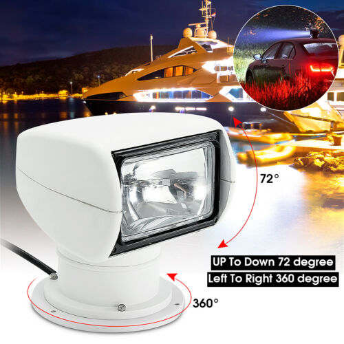 Remote Control Boat Truck Car Spotlight Marine Searchlight Light Bulb 12V 100W