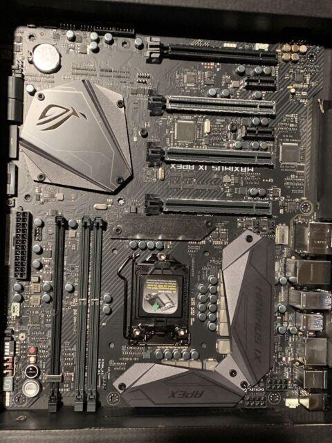 ASUS ROG Maximus IX Apex, LGA 1151, Intel Motherboard