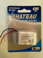 NEW Chateau Cordless Phone Battery 2.4V #6395 $2 ONLY! Mississauga / Peel Region Toronto (GTA) Preview