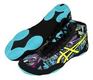 asics wrestling shoes purple italy