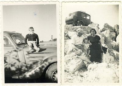 Lot 21 Photos Voiture Auto Automobile Camion Vers 1930/60