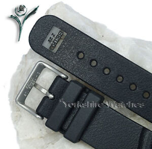 SEIKO-Z22-GENUINE-DIVERS-RUBBER-BUCKLE-WATCH-STRAP-22mm
