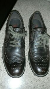 Men-039-s-Kenneth-Cole-REACTION-Brown-Leather-Wingtip-Oxford-Shoes-11-M