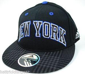 6222d04f175 New York Knicks Adidas TY53Z 210 NBA Basketball Stretch Cap Hat L XL ...
