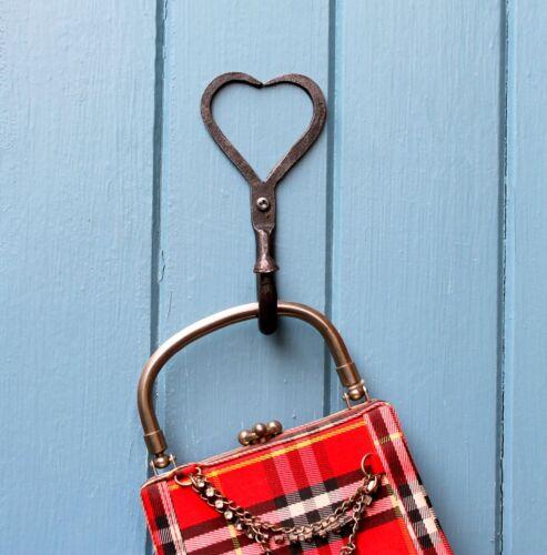Crochet Coeur Forme Rustique Country Door Hanger