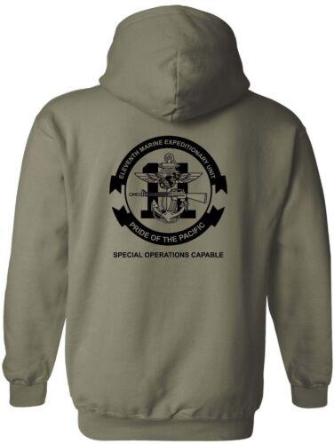 UnitmeuHoodie Marine Usmc United States Expeditionary Corps11th POkXZui