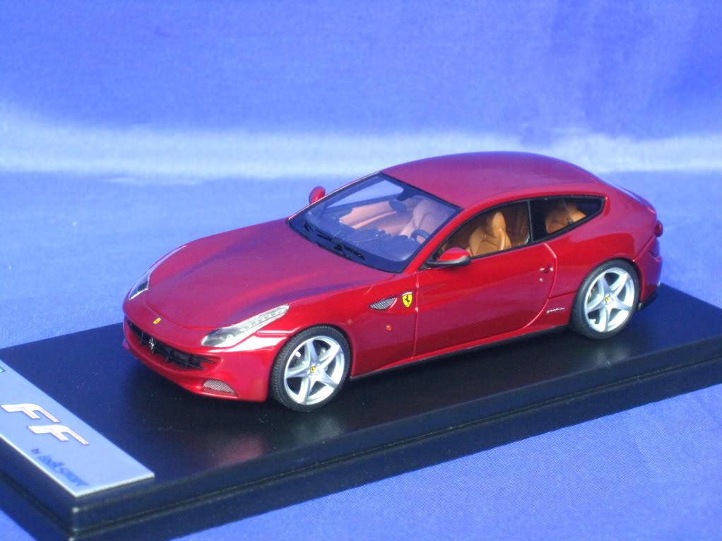Ferrari ff rot maranello klug aussehen ls387a 1 43 neue looksmart gut harz - modell