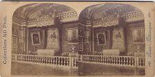 Versailles France Stéréo Photo Vintagealbumine ca 1890