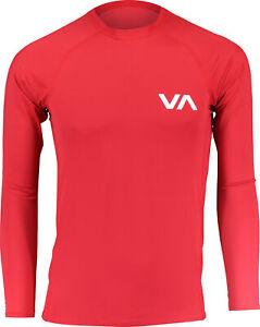 RVCA Mens Sport Long Sleeve Rashguard