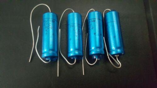 Nos Vintage Condensador Philips 250uF 25v BC-0 4 X Piezas