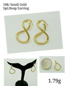 Gold-Authentic-18k-saudi-gold-earrings