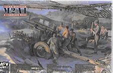 AFV WWII Late, 105MM Howitzer M2A1 and Carriage M2A2 in 1/35 182 ST