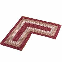 L-shaped Corner Braided Rug, By Collections Etc