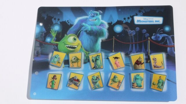12 coole Disney Pins Pin´s Monster AG New Generation Carrefour