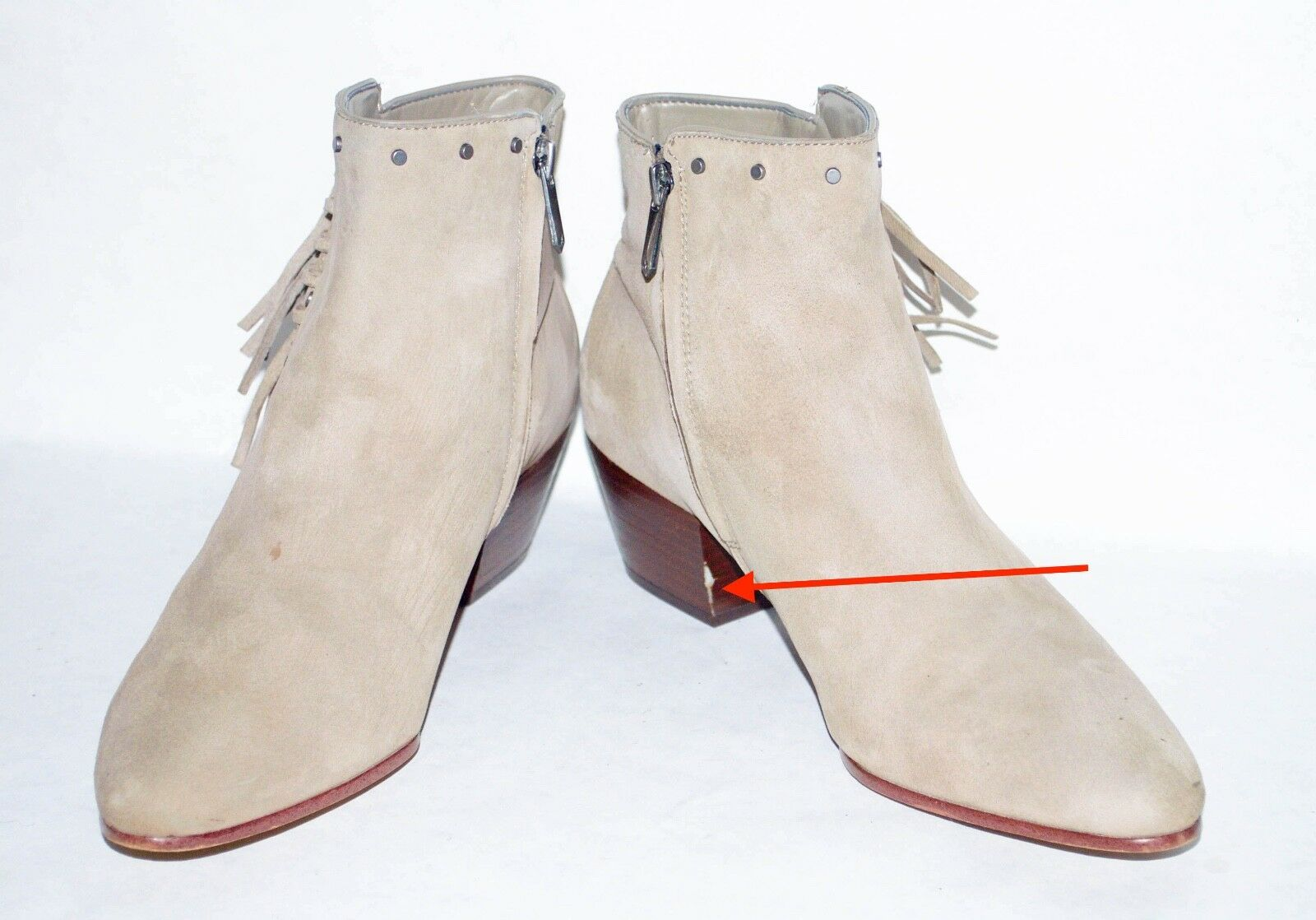 Sam Edelman    Rudie 'Tachonado botín flecos talla 8.5 9a01ba
