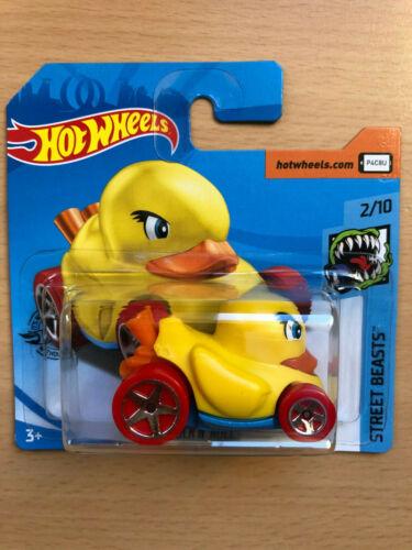 Hot Wheels 2020 Duck n´Roll  #Street Beasts  02//10-132//250 OVP NEU Ente Fun