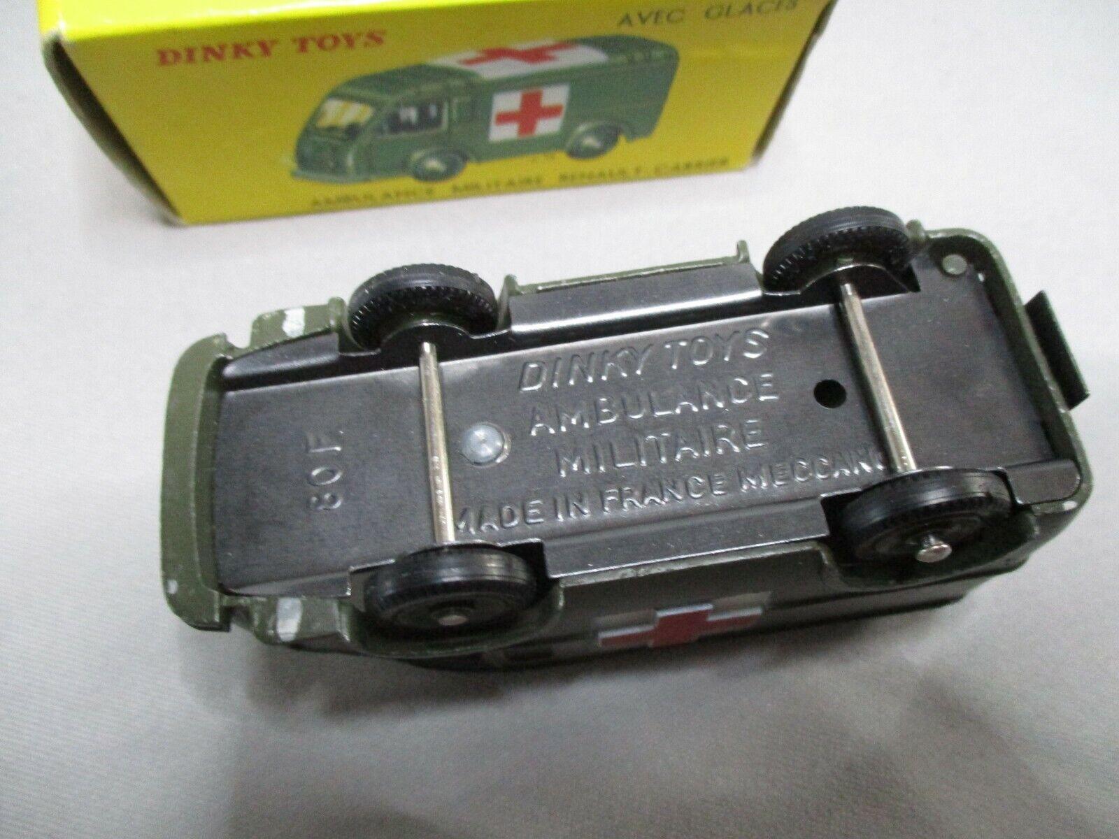 AJ702 DINKY TOYS FR AMBULANCE MILITAIRE MILITAIRE MILITAIRE RENAULT CARRIER Ref 820 BON ETAT fbde11