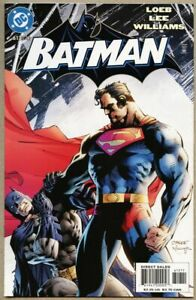 Batman-612-2003-nm-9-4-STANDARD-Cover-Jim-Lee-Scott-Williams-Superman