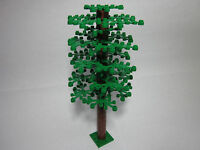 Lego Custom Tree With Tall Trunk & 25 Green Leaves, Free Shipping