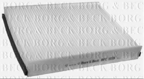 BORG /& BECK Cabine Filtre à pollen pour VOLVO Berline V40 1.6 88 kW