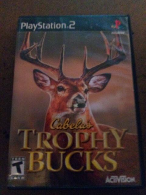 Cabela's Trophy Bucks (Sony PlayStation 2, 2007) - PS2