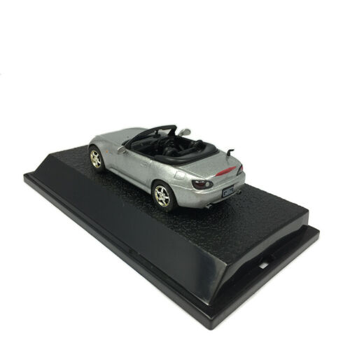 Honda S2000 Cabriolet 1//43 Scale Model Car Diecast Vehicle Collection Silver