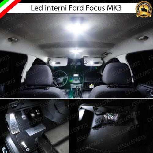 KIT LED INTERNI FORD FOCUS MK3 CONVERSIONE INTERNA COMPLETA CANBUS 6000K