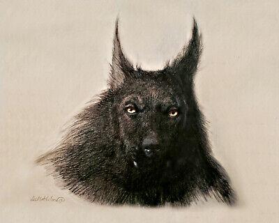 Dogman Cryptid Werewolf Shifter Art Print From Original Painting Ebay