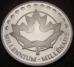 RCM-1999-Maple-Leaf-Medallion-Nickel-Uncirculated
