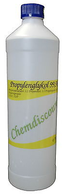1 Liter 1000ml Propylenglykol 99,5%1,2-Propandiol in Pharmaqualität USP