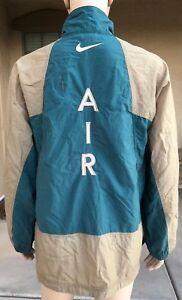 Vintage 90s Nike Windbreaker Jacket AIR Spell Out Big Logo White Tag ... f6f85fccd