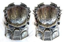 1 Silvery Army of Paintball Airsoft BB Gun Mask Iron Man Lone Wolf Predator Mask