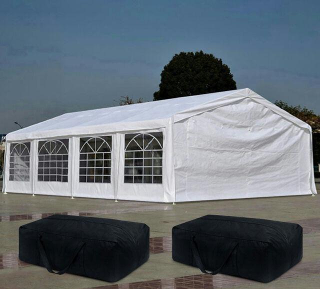 Quictent 26 X 20 Heavy Duty Garage Canopy Party Tent Carport W 5