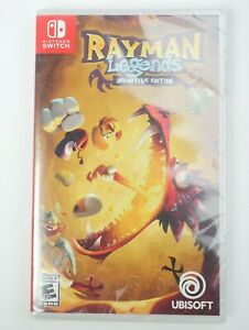 NEW-SEALED-Rayman-Legends-Definitive-Edition-Nintendo-Switch-Free-Shipping