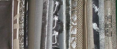 20 PIECES OF METALLIC/SHINY CRAFT MATERIAL IN SILVER & GOLD.  WEDDING,SCRAPBOOKS