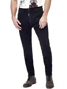 Jeans-Regular-Uomo-GUESS-M74A21D2RE1-Denim-Nero-Misura-W33-L30-IT-47