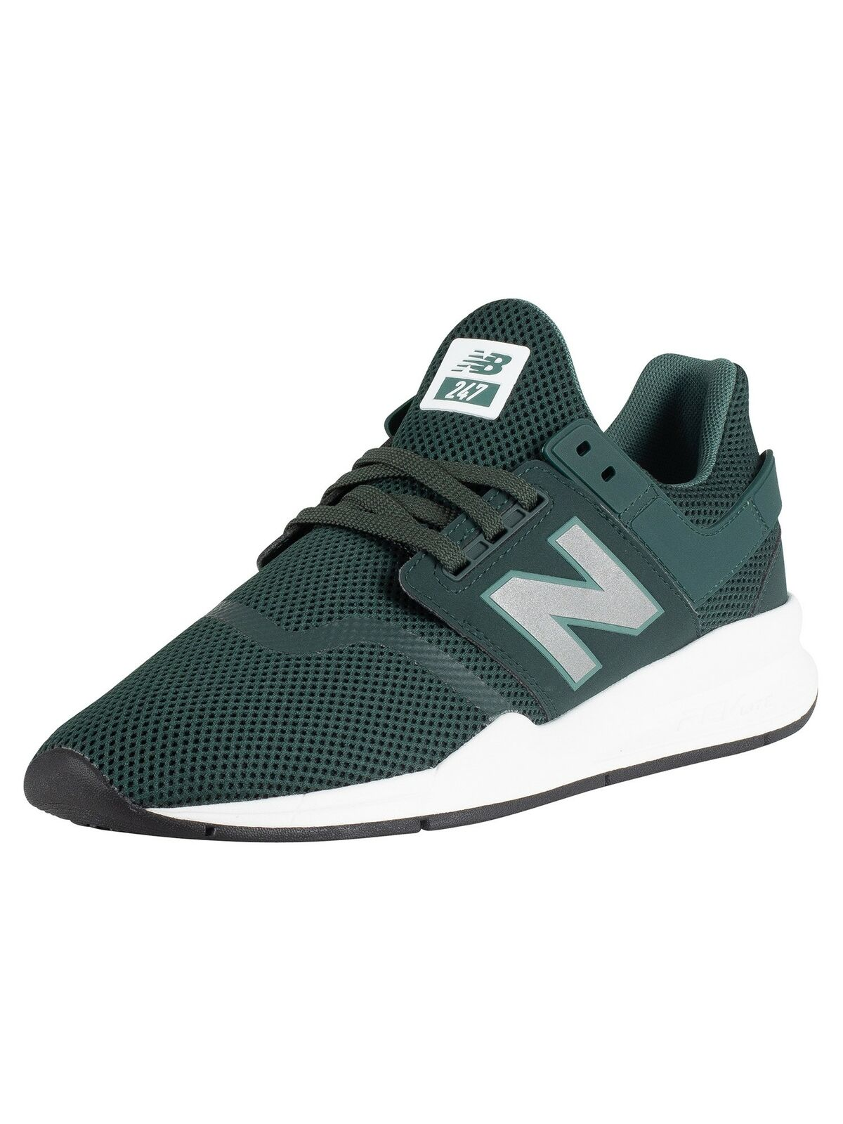 New Balance Men's 247 Mesh Trainers, Green