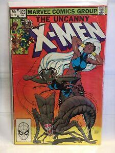 Uncanny-X-Men-165-FN-1st-Print-Marvel-Comics