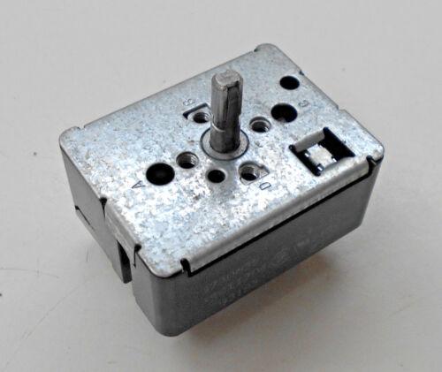 Whirlpool KitchenAid Infinite Burner Switch   NL811704  9750639  WP9750639  BLK